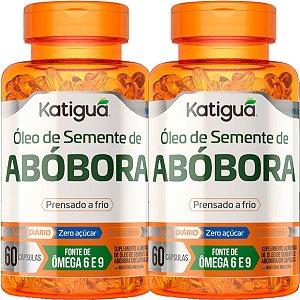 Kit 2 Óleo de Semente de Abóbora 60 Cápsulas Katigua