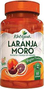 Laranja Moro com Berinjela 500mg 60 Cápsulas Katigua