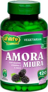 Amora Miura com Vitaminas Unilife 120 capsulas