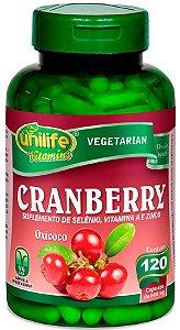 Cranberry Oxicoco Unilife 120 Capsulas