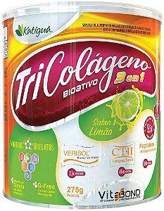 Tri Colágeno Bioativo 3 em 1 Limão 275g Katigua