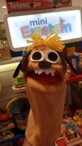 Fantoche Mini Einstein - Cachorrro