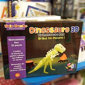 Quebra Cabeça T. Rex - Brilha no escuro