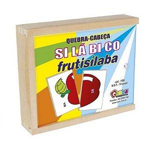 Quebra-Cabeça Silábico Frutisílaba