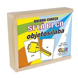 Quebra-Cabeça Silábico Objetosílaba