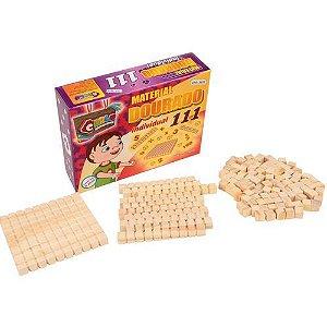 Material Dourado Ind. 111 Peças (Caixa de papel)