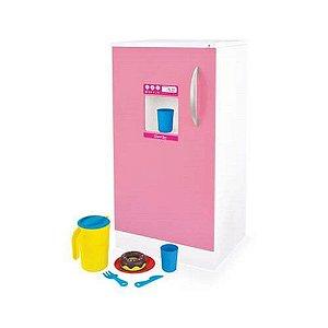 Geladeira De Brinquedo Super Lux - Rosa