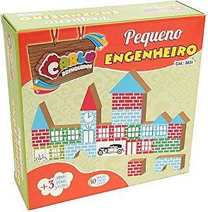 Pequeno Engenheiro 50 peças ( Caixa de papel )