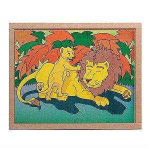 Quebra Cabeça - Leão