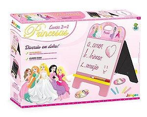 Lousa 2 em 1 - Princesas