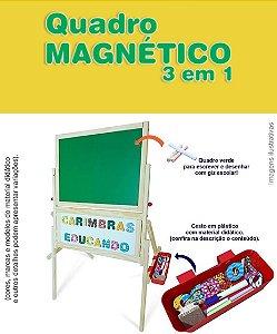 Quadro Magnético 3 em 1
