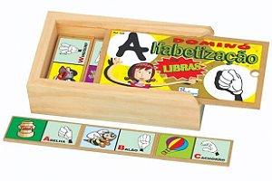 Dómino alfabetização libras
