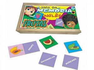 Memoria Frutas Inglês