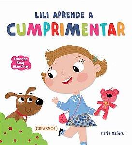 Lili aprende a cumprimentar