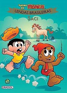 Turma da Mônica Lendas brasileiras - Saci