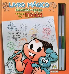 Livro Mágico Desenha-Apaga