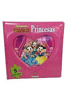 Turma da Mônica - Quebra-Cabeça Princesas