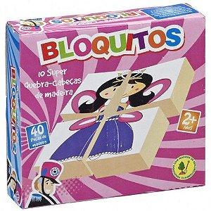 Bloquitos Quebra-Cabeça - Princesa