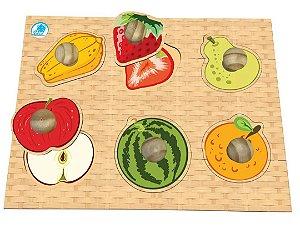 Quebra Cabeça Pinão Frutas