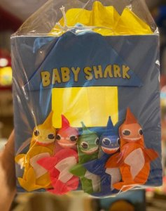 Teatrinho de Dedoche  - Baby Shark