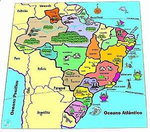 Q.C mapa dos estados