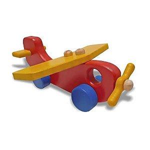 Avião Colorido