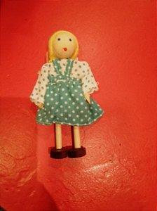 Boneca Menina - Branca