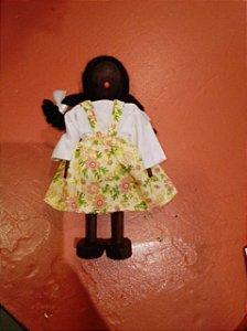Boneca Menina - Negra