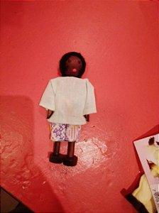Boneco Menino - Negro