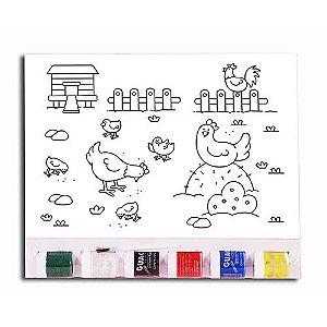 KIT Pintura Infantil  – Galinha
