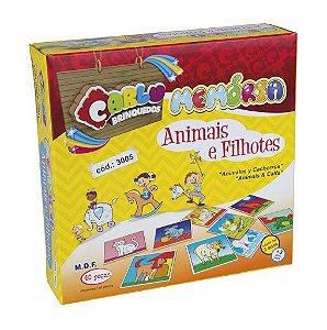 Memoria Animais e Fillhotes (Caixa de Papel)