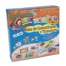 Memoria Meios de comunicação e Transporte (Caixa de Papel)
