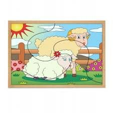 Quebra-cabeça - Casal Ovelha