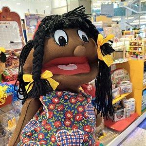 Fantoche Gigante - Menina Negra