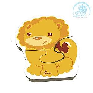 Quebra Cabeça Vertical Baby - Leão