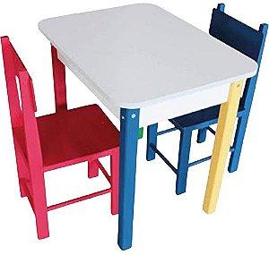 Mesa com duas cadeiras (carlu)