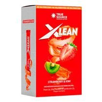 TRUE SOURCE XLEAN CX COM 20 SACHÊS STRANWBERRY E KIWI