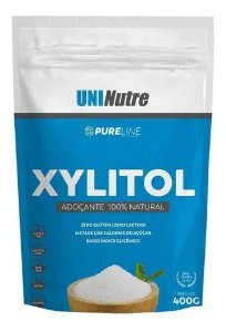 XYLITOL PURE LINE ADOÇANTE 100% NATURAL 400G