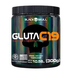 GLUTA C19 BLACK SKULL 300G
