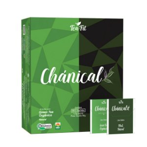 CHÁNICAL GREEN TEA ORGÂNICO E BLACK NATURAL CX COM 60 SACHÊS