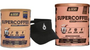DUAS UNIDADES SUPERCOFFEE 220G + BRINDE VISEIRA