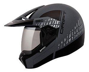 Capacete Moto Bieffe 3 Sport Drift - 3 Em 1.