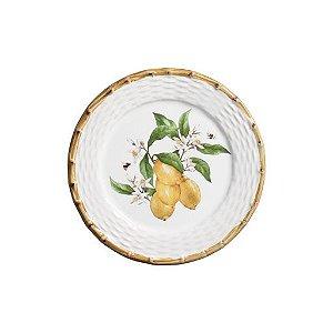 Prato sobremesa tropical Fruits Limão Siciliano