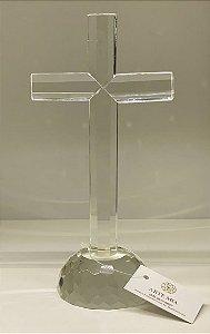 Crucifixo cristal óptico