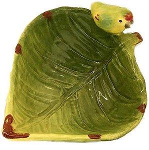 Folhinha bowl verde c/ passarinho