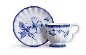Conjunto Xícara Chá Demoiselle- 6un
