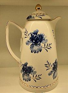Garrafa térmica em Porcelana  Floral -900ml