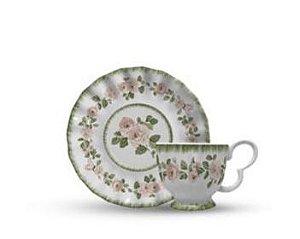 Conjunto xícara de Chá Rosier