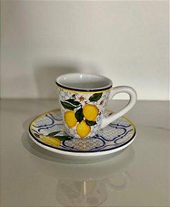 Conjunto Xícara de café limão 6unidades