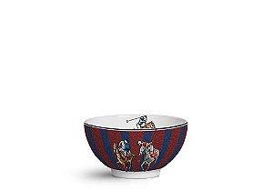 Conjunto de Bowls listras azul com 6unidades
